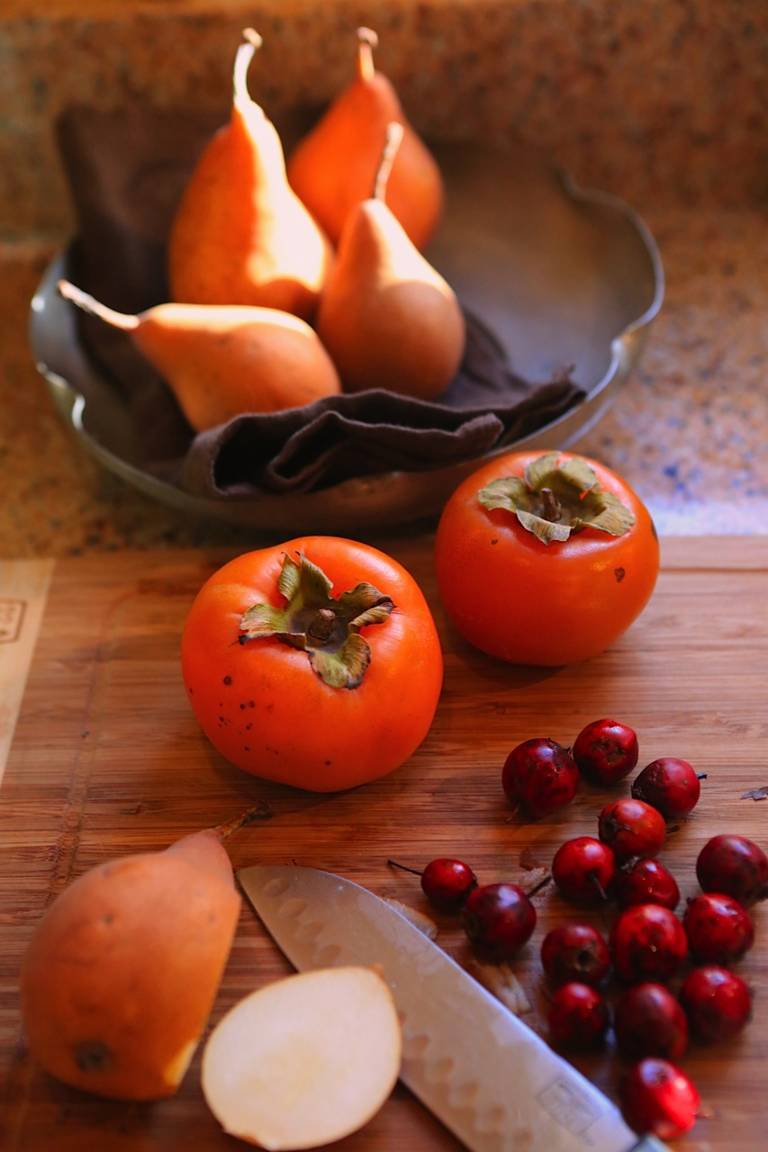 Spiced-Hawthorn-Pear-Persimmon-Brandy-Recipe-Blog-Castanea