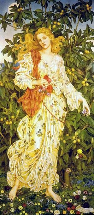chloris greek goddess