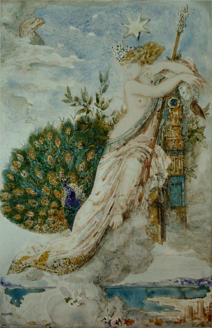 Gustave_Moreau_-_Le_Paon_se_plaignant_à_Junon