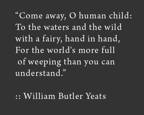 Witches and Wizards and Irish Folk-Lore  (W.B. Yeats) ~ Visions and Beliefs in the West ofIreland