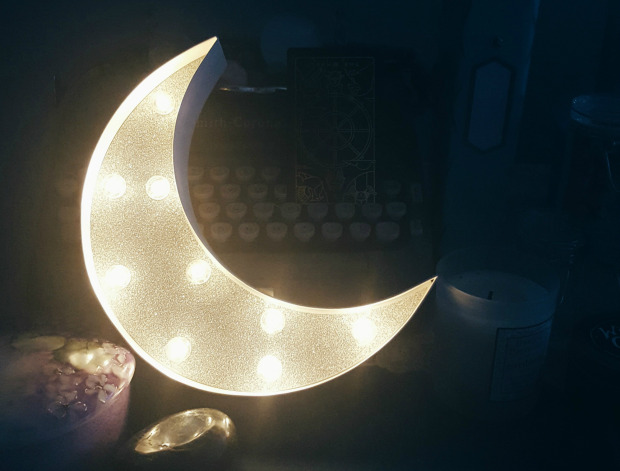 How to Decorate Like the Moon Goddess You Know You Are | The Witch of Lupine Hollow