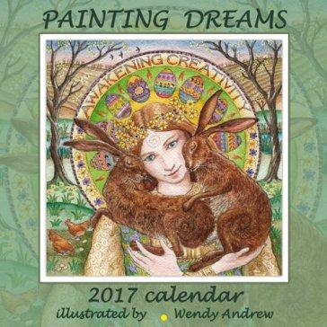 2017 Calendar Fantasy Art Painting Dreams By Wendy