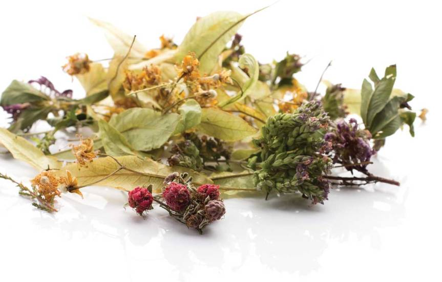 A Floral Spring Cleansing Herbal Tea