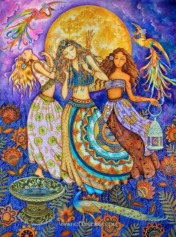 Dancing Under The Full Moon OfMarch