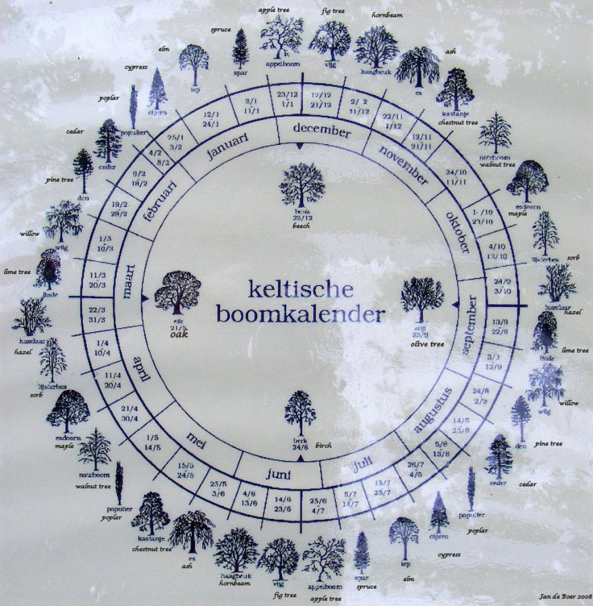 celtic tree calendar 2