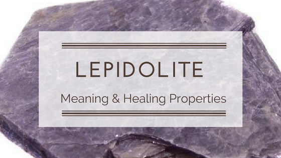 THE MENTAL BALANCER STONE ~ LEPIDOLITE