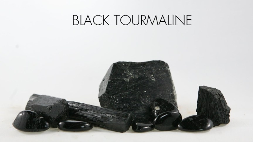 THE NEGATIVITY REMEDY STONE: BLACK TOURMALINE
