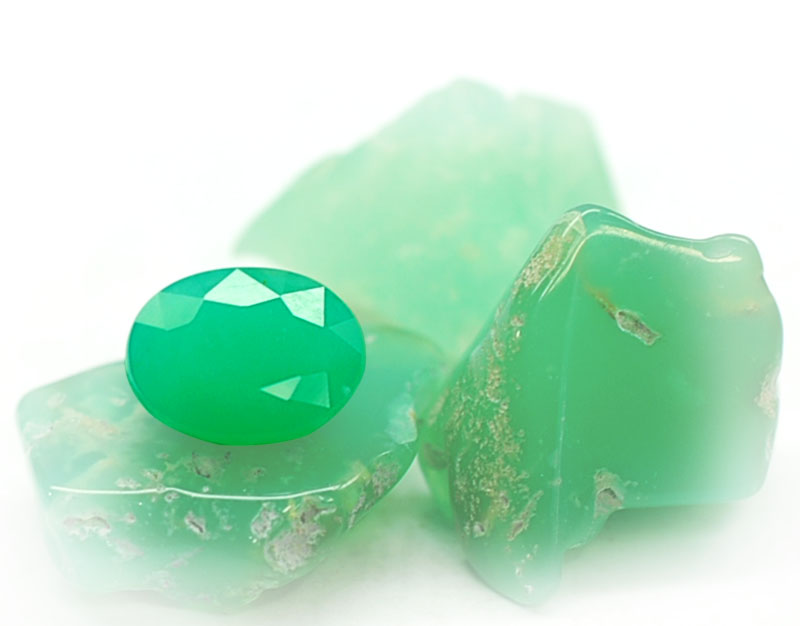 The Courage Stone: Chrysoprase