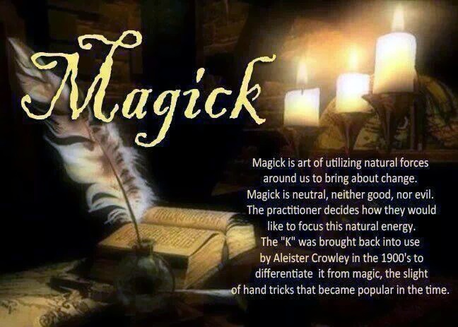 What Is The Difference? Magick Or Magic