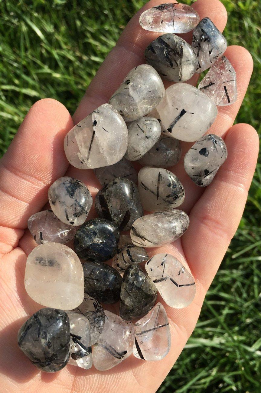tourminalated quartz