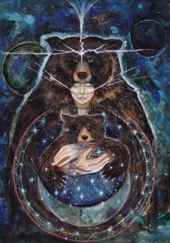 bear celestial and cub
