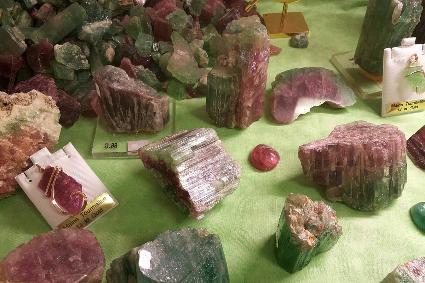 Watermelon Tourmaline: Rainbow Tourmaline