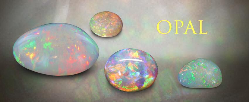 October Birthstones: Opal andTourmaline