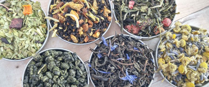 Tea Time: Herbal Teas for Health