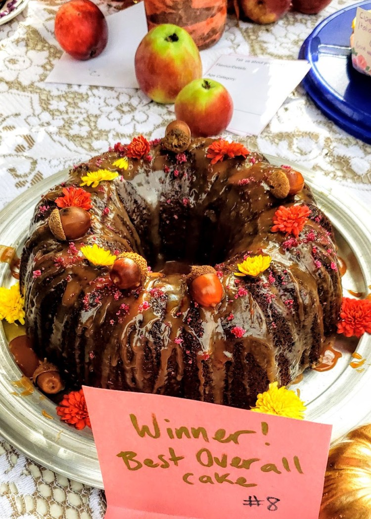 Sticky Toffee Acorn Bundt Cake: A Prize Winning Recipe! – Gather Victoria
