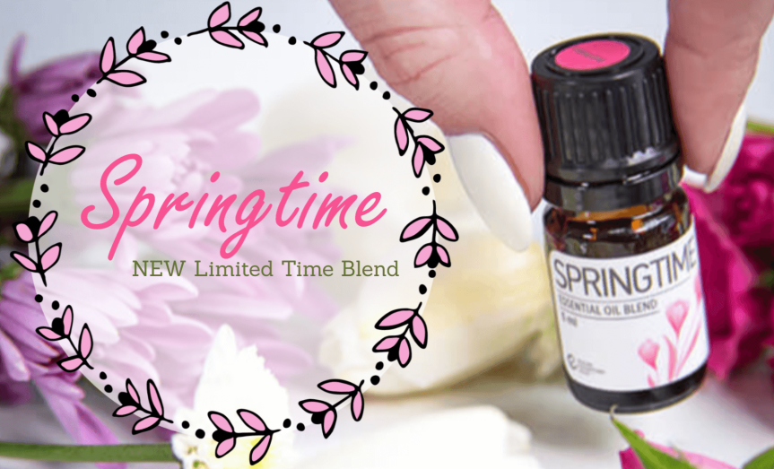 INTRODUCING SPRINGTIME, Our Newest Essential OilBlend!