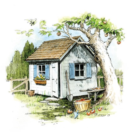 How to Build a Classic Cottage GardenShed