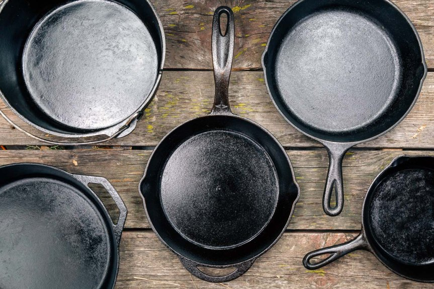 Homestead News: Cleaning and Seasoning Cast Iron Cookware
