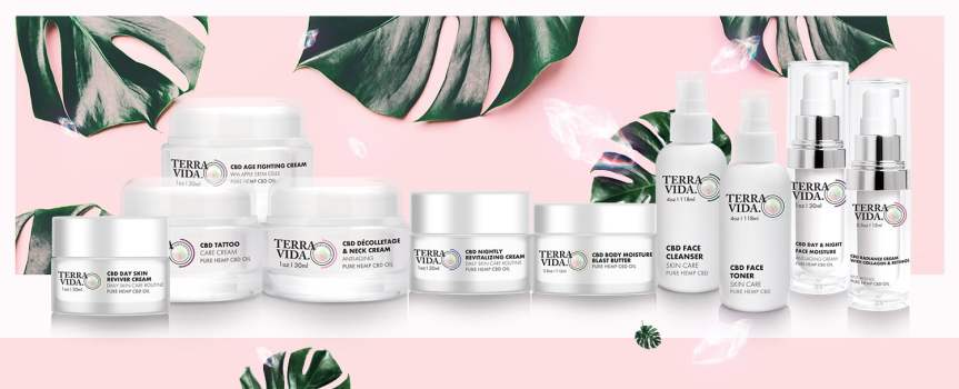CBD Skin Care Products: Lotion, Cosmetics & More | TerraVida Online