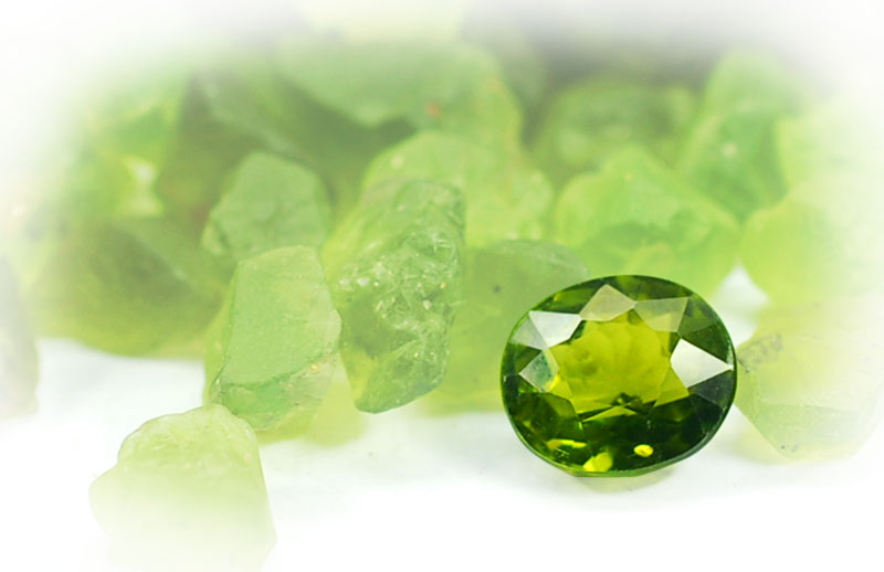 Pharaoh's Peridot – GemSelect Newsletter August 2019