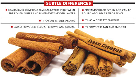 cinnamon two types
