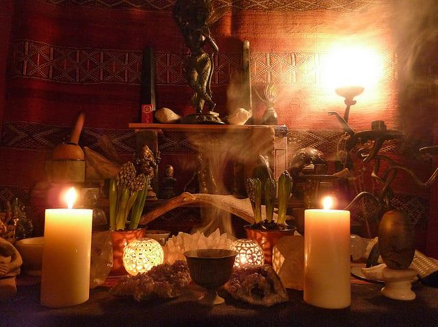 A Witch Shop at Samhain | LisaWagoner
