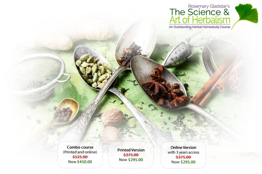 The Science and Art of Herbalism | Rosemary Gladstar's Online Herbal Course