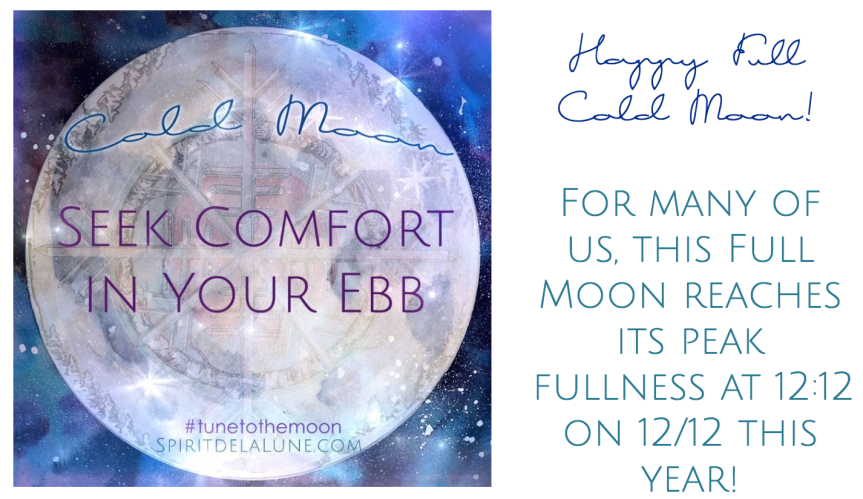 Full Cold Moon Spell Cookies — Spirit de la Lune