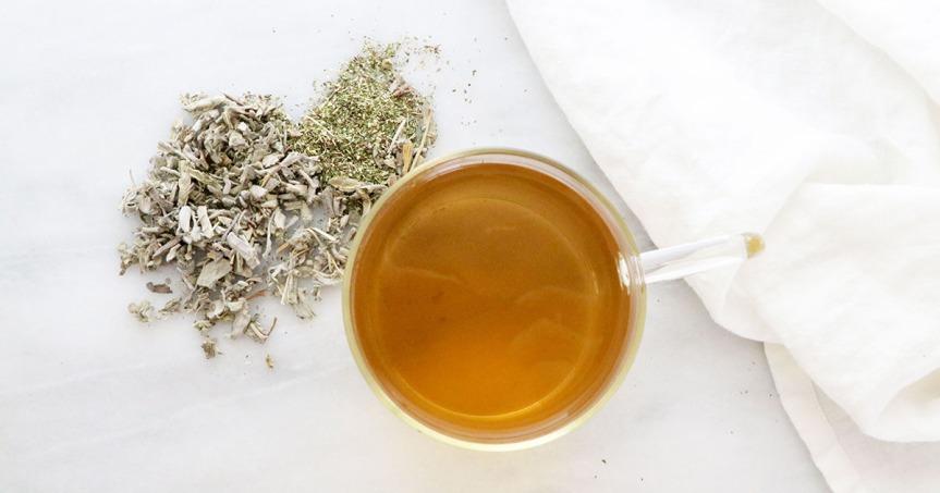 SAGE ECHINACEA TEA