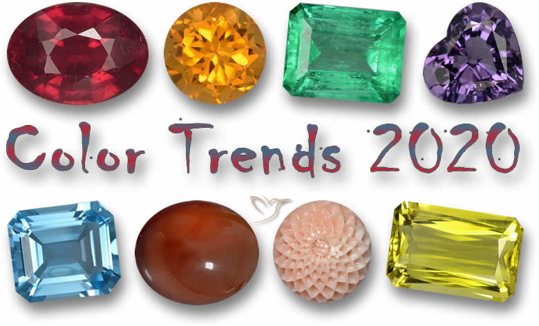 January Newsletter – Gemstone Color Trends and Spiritual Help