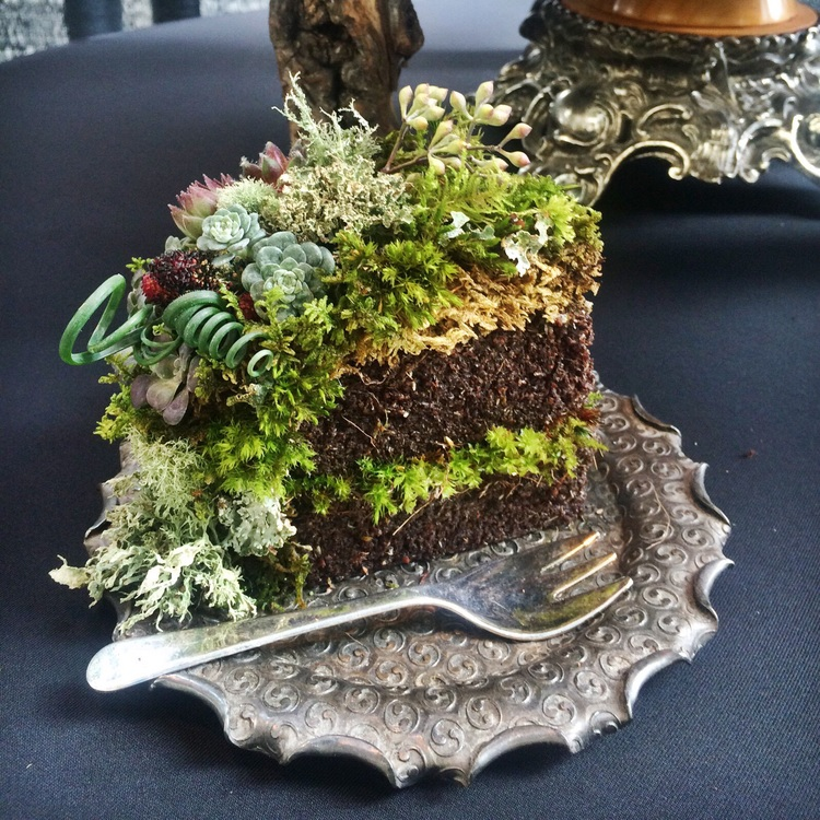The Makings of a Woodland Wedding Cake — Lusher Life Studio