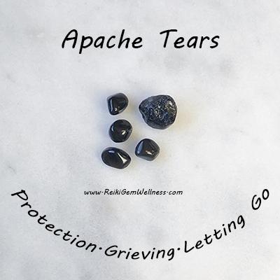 Apache Tears Spiritual Properties: Stone of Recovery – Reiki GemWellness