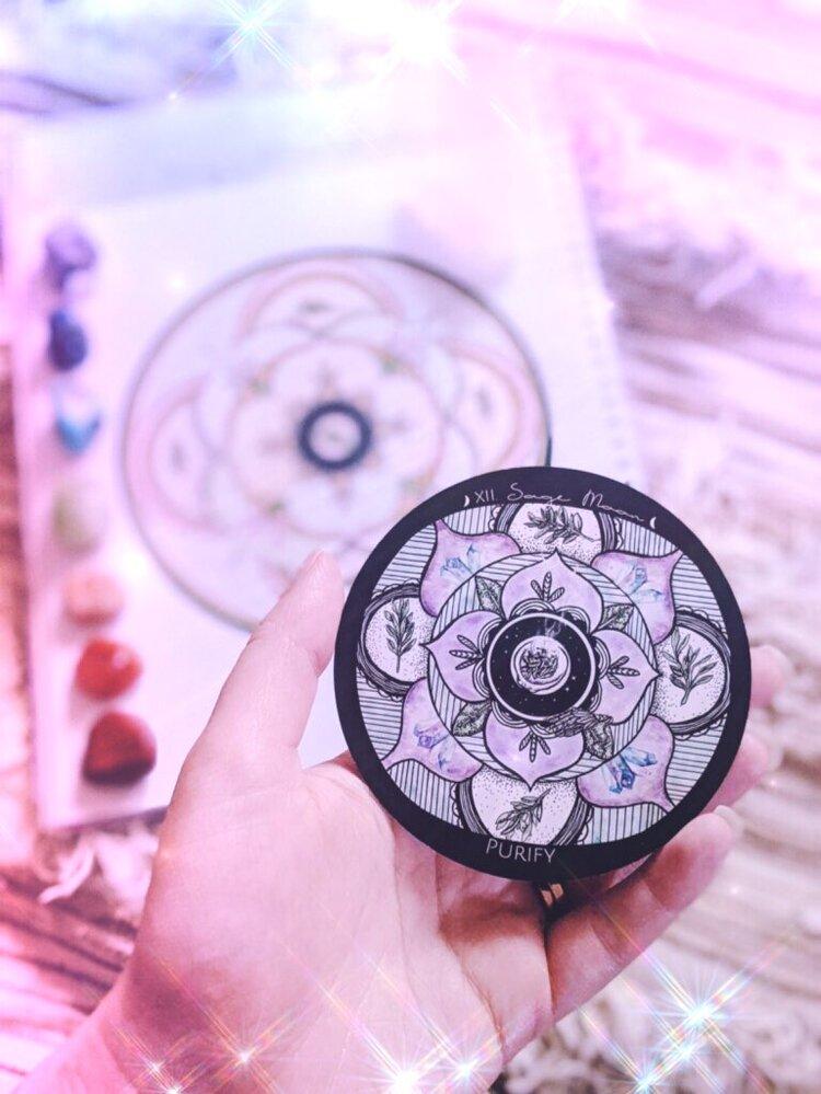 Sage Moon in Leo Energy Reset Ceremony — Spirit de laLune
