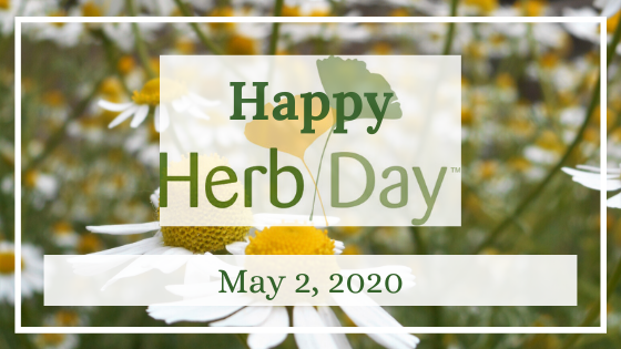Herb Day, Herb Day Event Date: Saturday, May 2, 2020