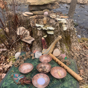 Altar for water healing
