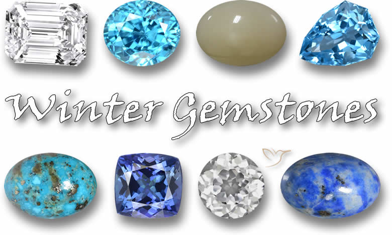 Gemstones for Winter – 8 great choices to cheer up a cold night