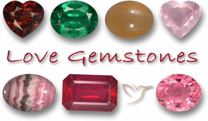 Gemstones for Love – Our magnificent 7 Gems of the Heart
