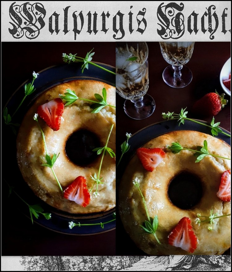 Bewitching Maibowle Cream Cake For Walpurgis Nacht (May Day Eve) – Gather Victoria